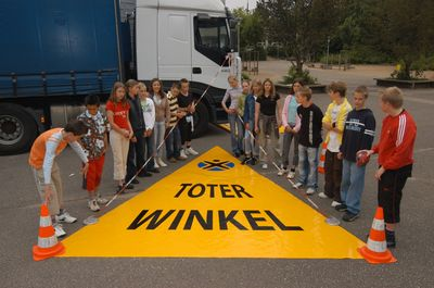 Aktion Toter Winkel - Demonstration